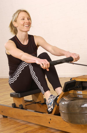WaterRower Natural Club and Studio Commercial Rowers